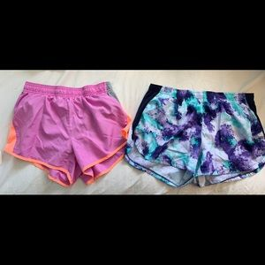 Pants - two pairs of running shorts